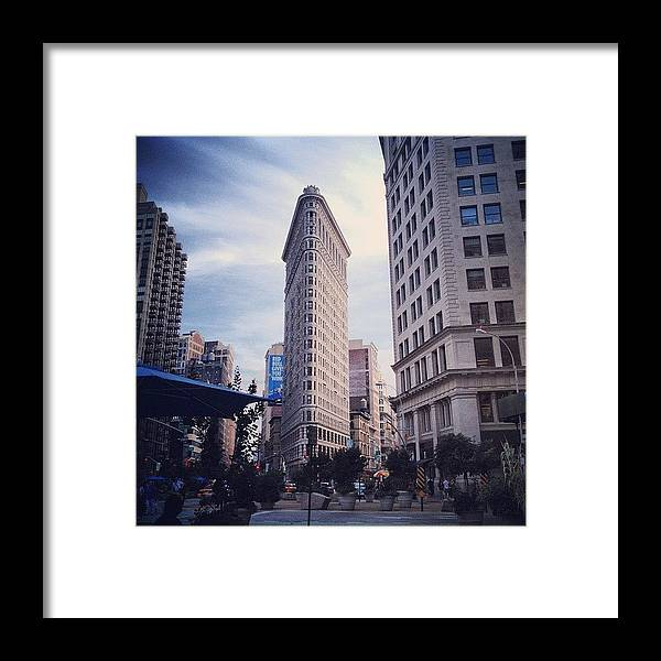 Summer Framed Print featuring the photograph #instagram #instamood #instagood by Randy Lemoine
