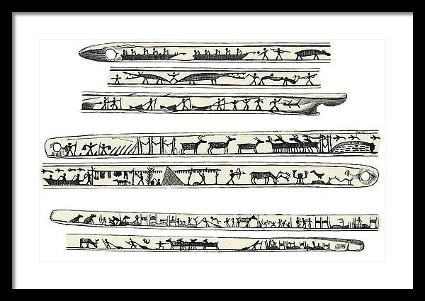Inuit Weapon Carvings, Artwork by Sheila Terry