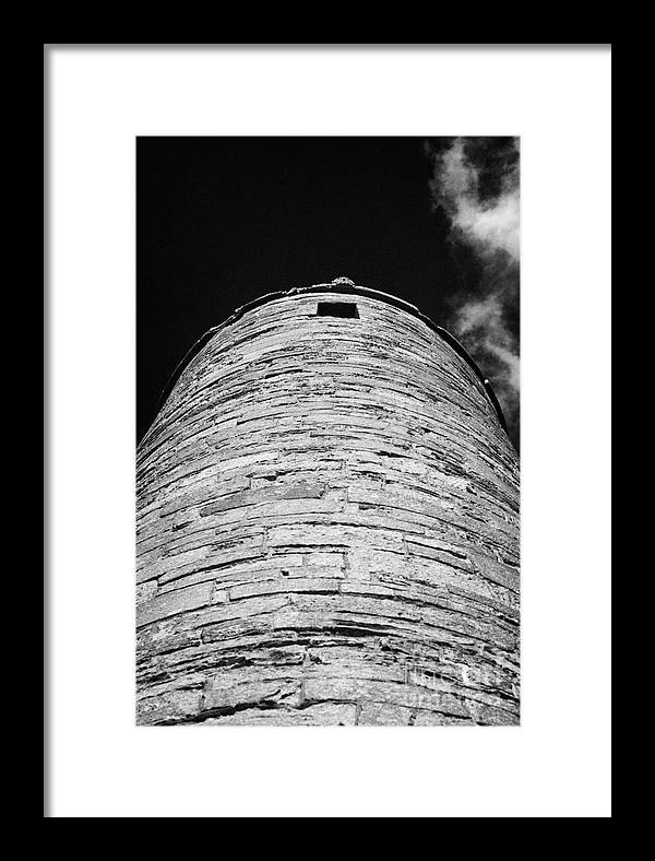 Northern Framed Print featuring the photograph Irish Round Tower by Joe Fox