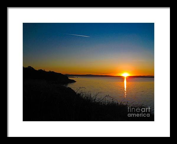 Ireland Framed Print featuring the photograph Irish Sunset by Black Sun Forge
