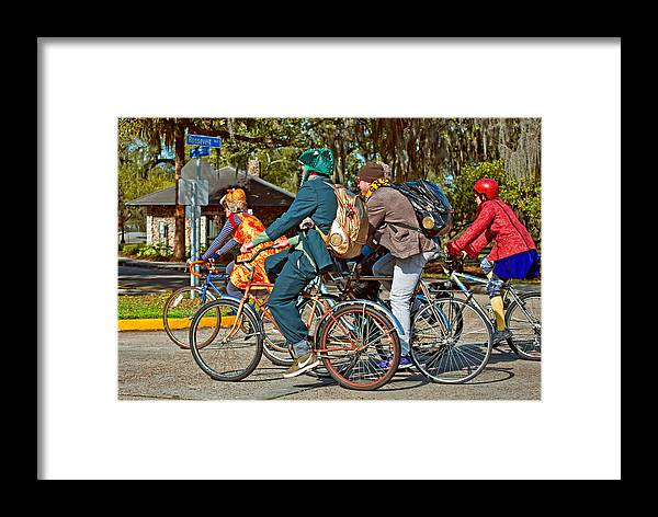 New Orleans Framed Print featuring the photograph It's Party Time by Steve Harrington