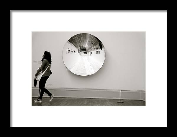 Jezcself Framed Print featuring the photograph I've Just See The Real Me by Jez C Self