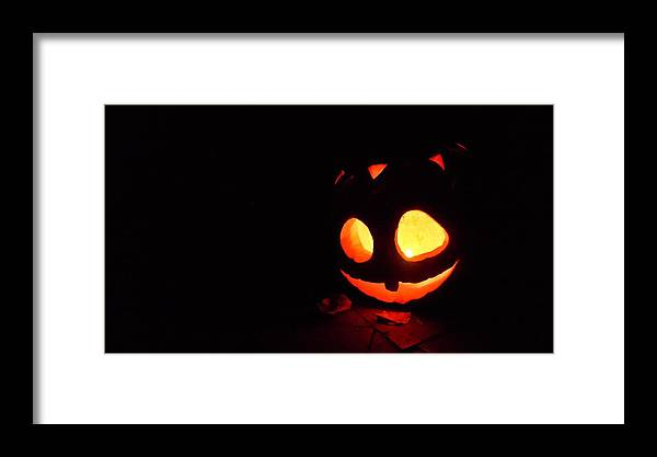 All Hallow's Eve Framed Print featuring the photograph Jack by Ronda Broatch