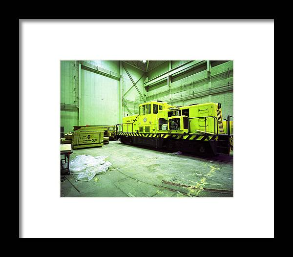 Area 25 Train Framed Print featuring the photograph Jackass And Western Rr by Jan W Faul