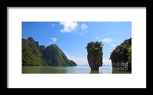 Ko Framed Print featuring the photograph James Bond Island - Ko Tapu by Pete Reynolds