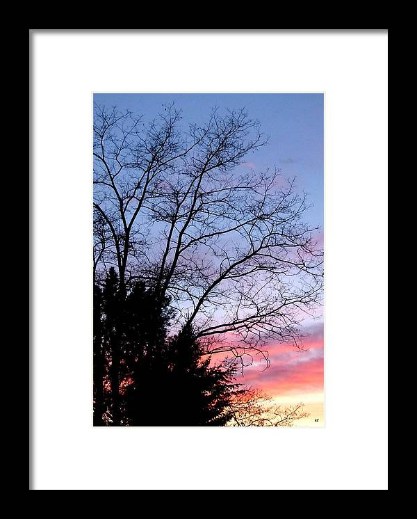 January Framed Print featuring the photograph January Silhouette by Will Borden