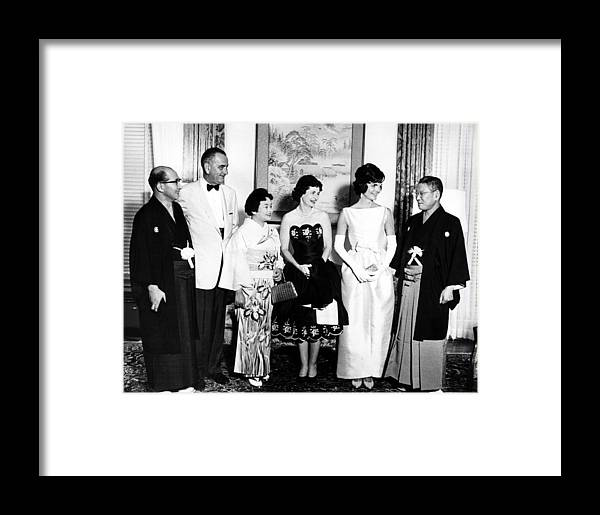 1960s Framed Print featuring the photograph Japanese Foreign Minister Zentaro by Everett