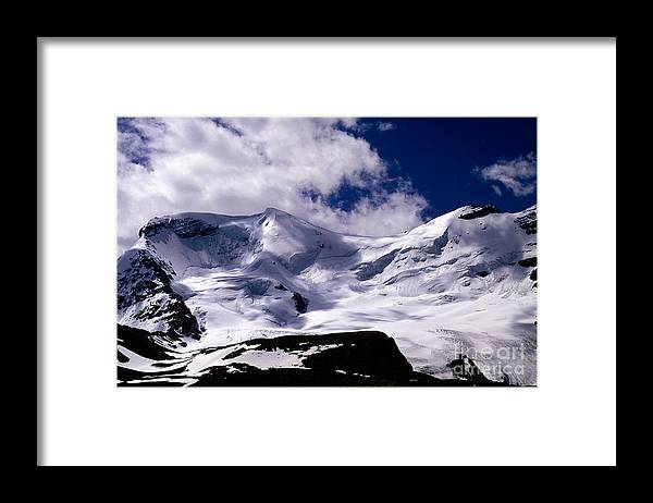 Mt. Athabasca Framed Print featuring the photograph Jasper - Mt. Athabasca by Terry Elniski