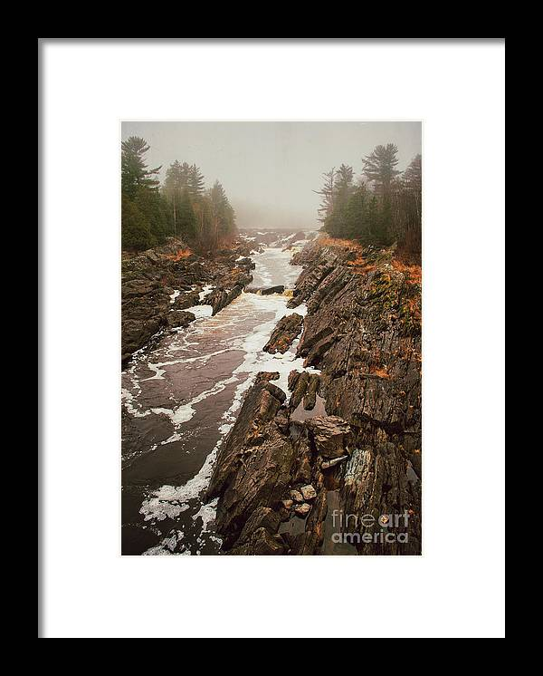 Jay Cooke Framed Print featuring the photograph Jay Cooke Under Fog by Ever-Curious Photography