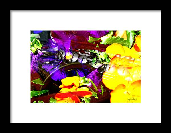 Jazz Framed Print featuring the photograph Jazz The Color Of Sound by Stephen Paul West