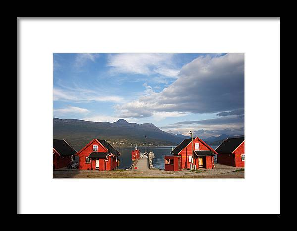 Travel Framed Print featuring the photograph Jetty In A Norwegian Fjord by Ulrich Kunst And Bettina Scheidulin