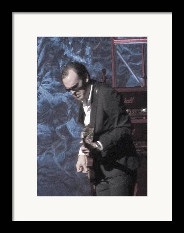 Blues Artist Joe Bonamassa Framed Print featuring the photograph Joe Bonamassa by Todd Sherlock