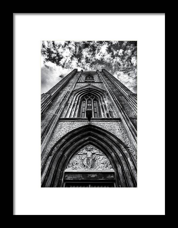 B&w Framed Print featuring the photograph Join Me My Child by Arnar B Gudjonsson