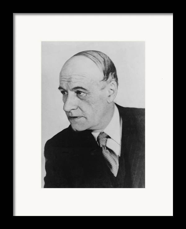 History Framed Print featuring the photograph José Ortega Y Gasset 1883-1955, Spanish by Everett