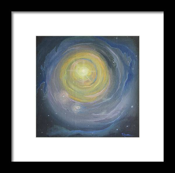 Light Framed Print featuring the painting Journey To The Source by Judy M Watts-Rohanna