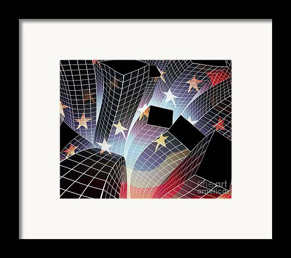 Aftershock Framed Print featuring the digital art Joy In The City by Atiketta Sangasaeng