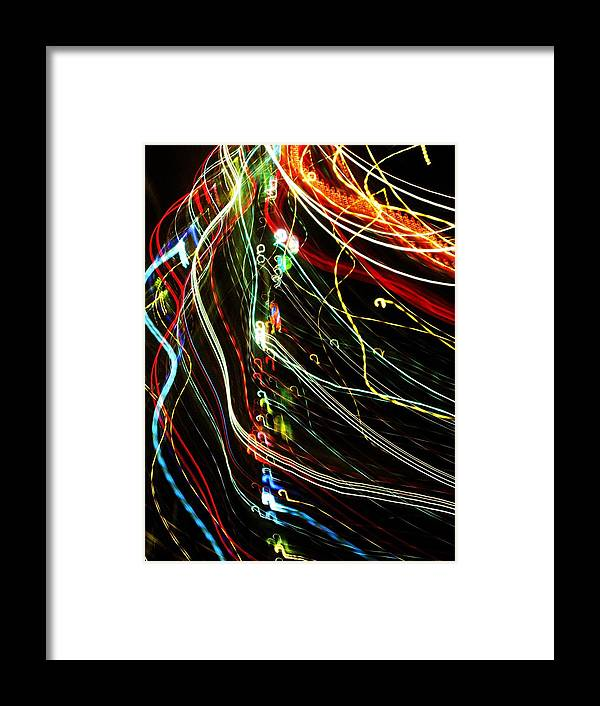 Lights Framed Print featuring the photograph Joyful by Jessi Williams