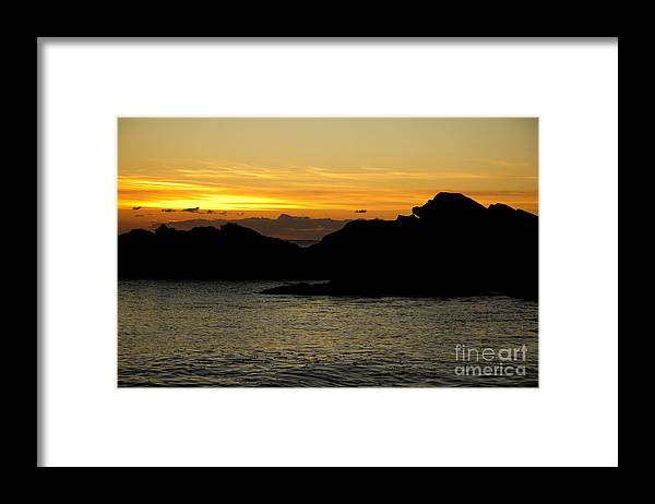 Maine Framed Print featuring the photograph Juicy Start by Brenda Giasson