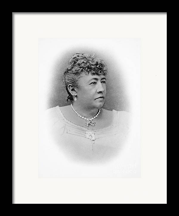 19th Century Framed Print featuring the photograph Julia Dent Grant (12826-1902) by Granger