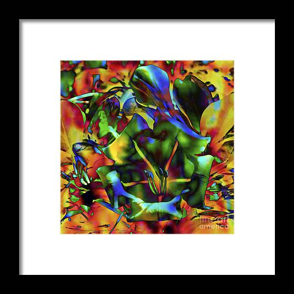 Fine Art Print Framed Print featuring the mixed media Kaleidoscope by Patricia Griffin Brett