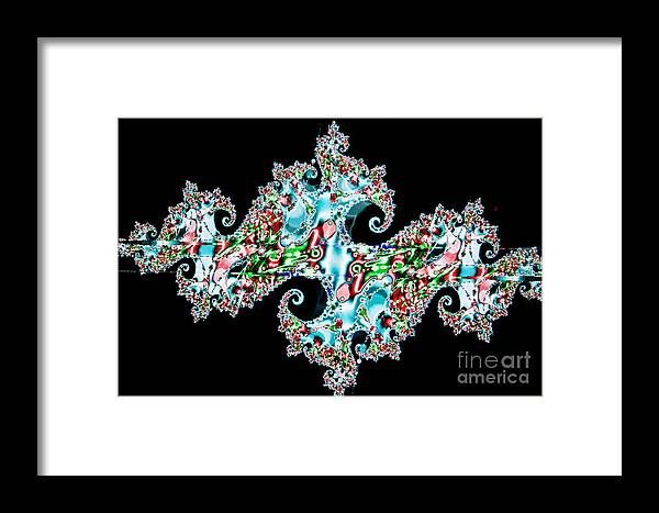 Abstract Framed Print featuring the photograph Kaleidoscope by Tashia Peterman