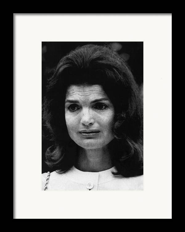 1960s Framed Print featuring the photograph Kennedy Family. Former First Lady by Everett