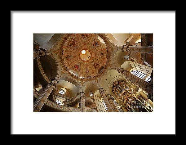 Architecture Framed Print featuring the photograph Kern Organ by Katja Zuske
