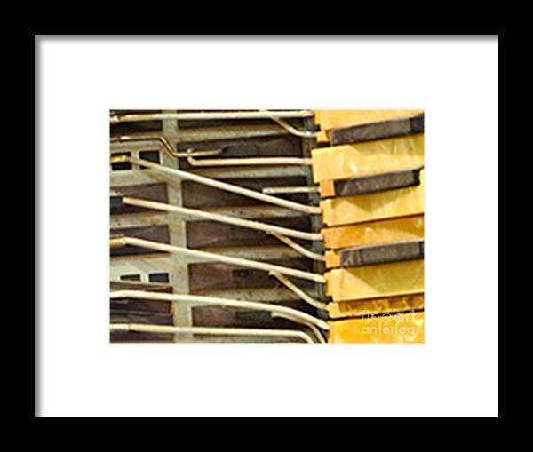 Instrument Framed Print featuring the photograph Key Eye by Laura Salazar