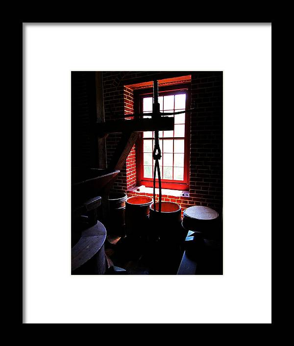 Flour Framed Print featuring the photograph Kiss My Grits by Phil Cappiali Jr