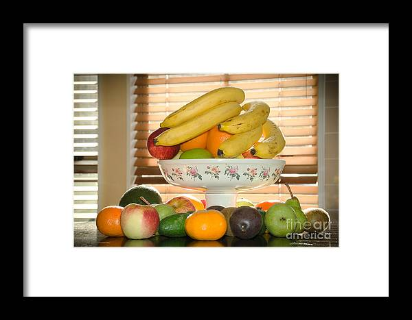Naturmort Framed Print featuring the photograph Kitchen Naturmort by Yurix Sardinelly