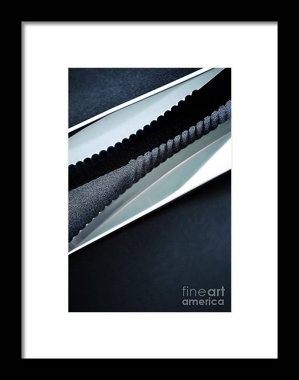 Knives Framed Print featuring the photograph Knives by HD Connelly