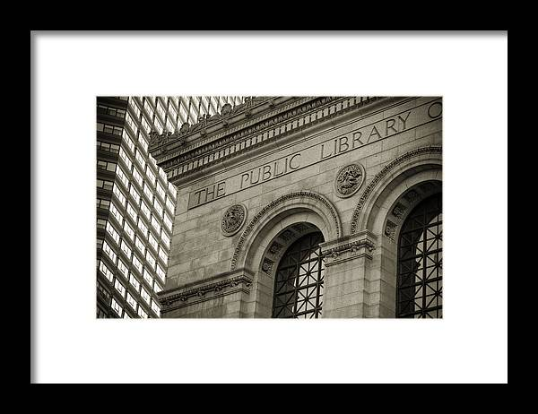 Andrew Kubica Framed Print featuring the photograph Knowledge by Andrew Kubica