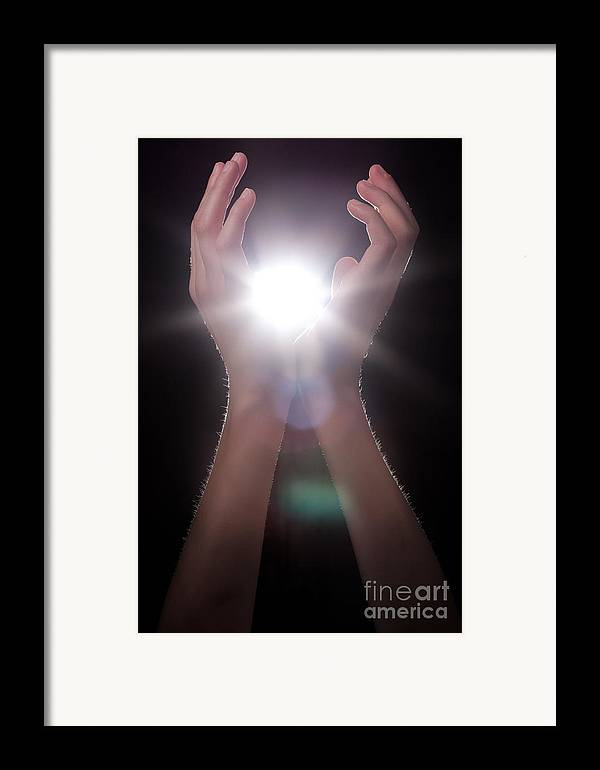 Light Framed Print featuring the photograph Knowledge by Cindy Singleton