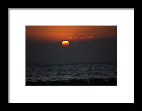 Koolina Framed Print featuring the photograph Ko Olina Sunset 1 by Eddie Freeman