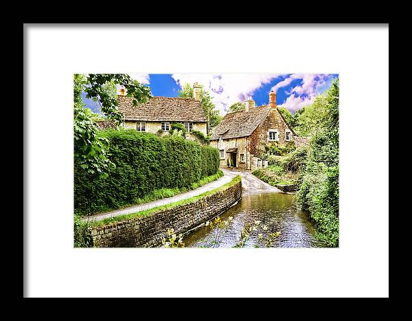 Lacock Framed Print featuring the photograph Lacock Village by Wendy White