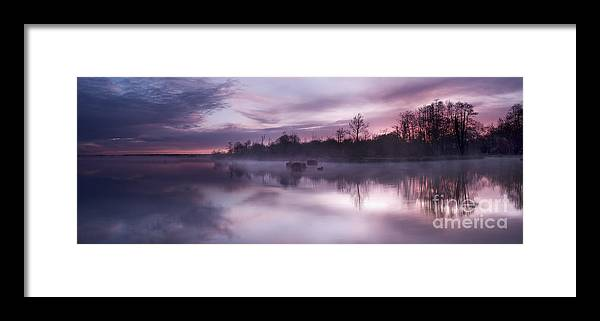Lac Framed Print featuring the photograph Lake Pearly by David Gimenez Aldalur