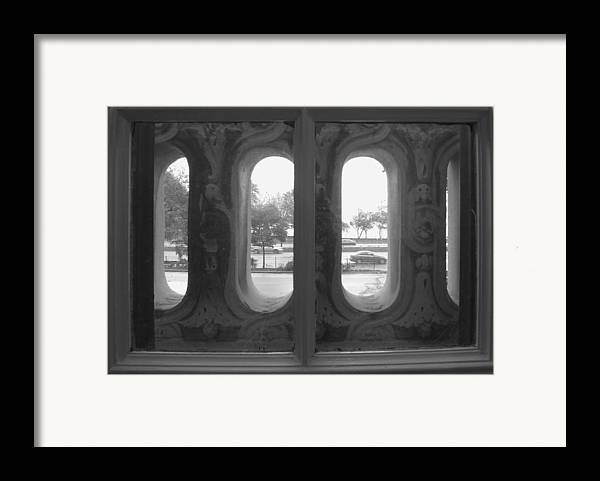 Window Framed Print featuring the photograph Lake Shore Drive by Anna Villarreal Garbis
