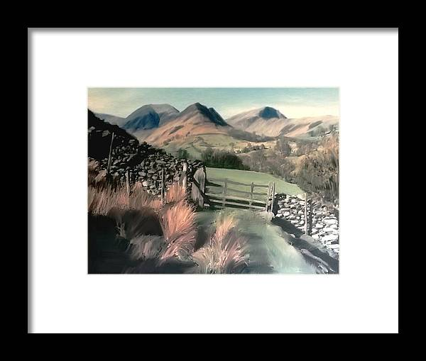 Lake District Framed Print featuring the photograph Lakeland View by Mike Bambridge