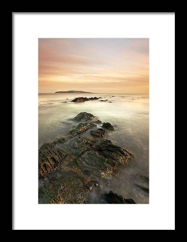 Lambay Island Framed Print featuring the photograph Lambay Island by Brendan O Neill