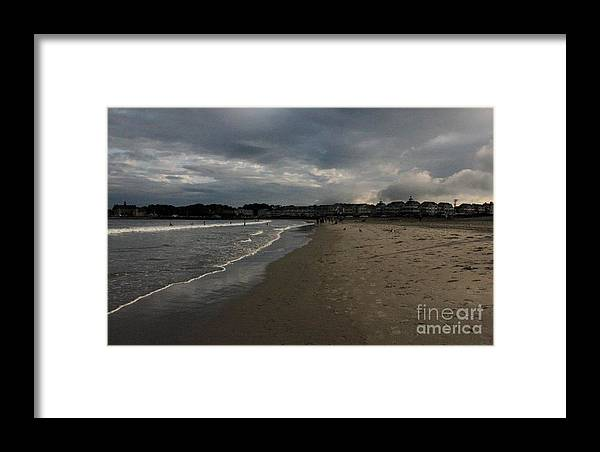 Ocean Framed Print featuring the photograph Landscape by Rohinibhan Challu
