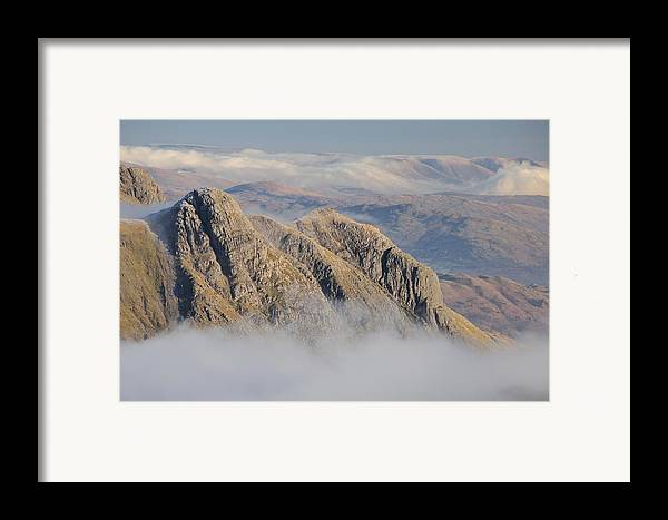 Langdale Framed Print featuring the photograph Langdale Pikes by Stewart Smith