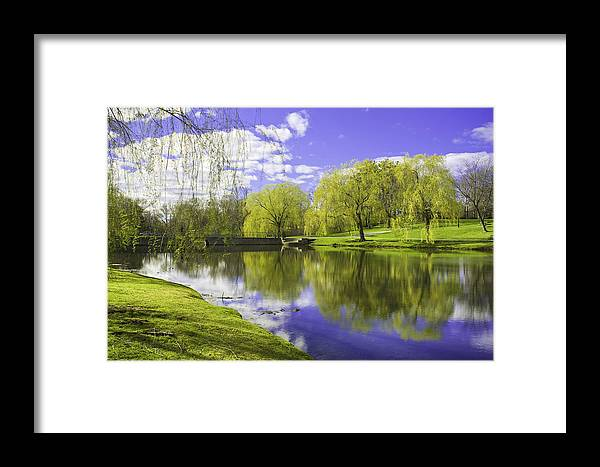 Andrew Kubica Framed Print featuring the photograph Larz Anderson Hdr by Andrew Kubica