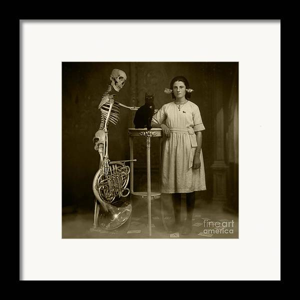 Last Ouija Game Framed Print featuring the photograph Last Ouija Game by Paul Grand