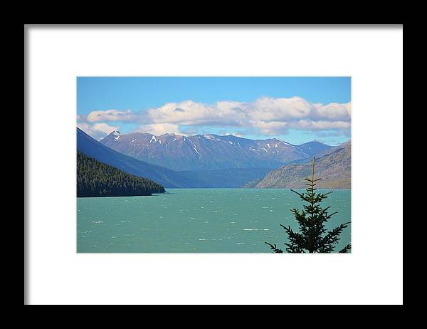 Lake Framed Print featuring the photograph Late Summer Lake by Tammy Anderson