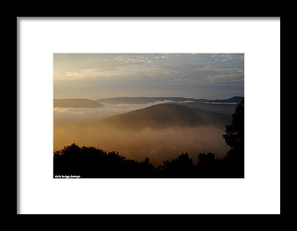 Landscapes Framed Print featuring the photograph Laurel Highlands Usa by Dale Briggs