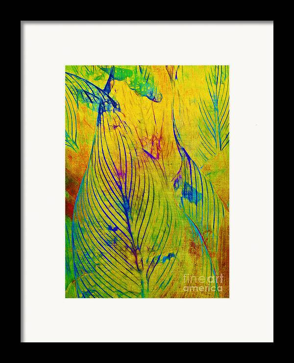 Jungle Framed Print featuring the photograph Leaves In The Jungle by Judi Bagwell