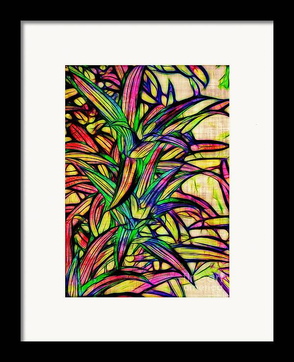Leaves Framed Print featuring the photograph Leaves Of Imagination by Judi Bagwell