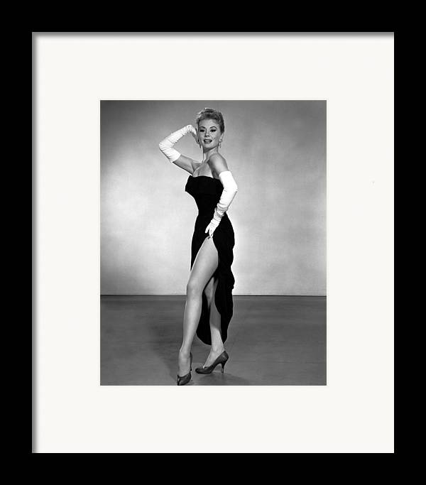 1950s Portraits Framed Print featuring the photograph Les Girls, Mitzi Gaynor, 1957 by Everett