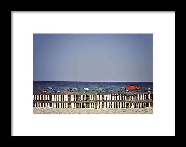 Beach Framed Print featuring the photograph Let's Go To The Beach by Karen Cooper