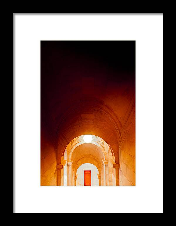 Arches Framed Print featuring the photograph Library Arches by Heidi Reyher